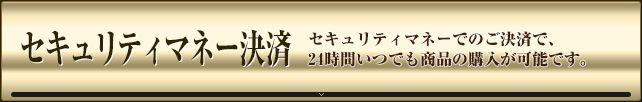 ギャロップジャパン セキュリティマネー